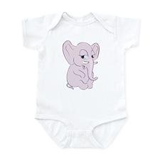 Cute Cartoon Elephant Infant Bodysuit
