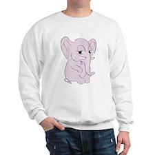 Cute Cartoon Elephant Sweatshirt