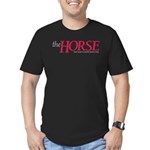 The Horse Men's Fitted T-Shirt (dark)