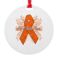 Hope Faith Cure COPD Ornament