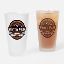 Winter Park Vibrant Drinking Glass