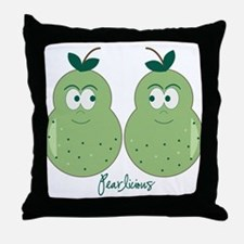Perfect Pears Throw Pillow