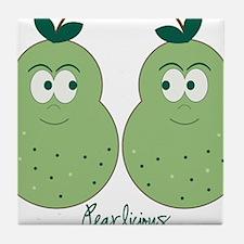 Perfect Pears Tile Coaster