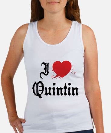 I Love Quintin Women's Tank Top