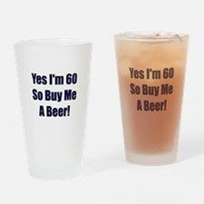 Unique B day Drinking Glass