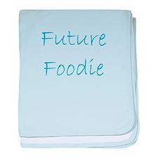 Future Foodie baby blanket