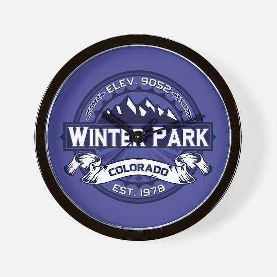 Winter Park Midnight Wall Clock