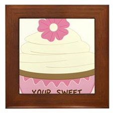 Your Sweet Cupcake Framed Tile