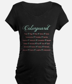Colorguard Mint and Coral T-Shirt
