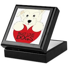 Must Love Dogs Keepsake Box