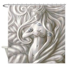 Modern Venus Shower Curtain
