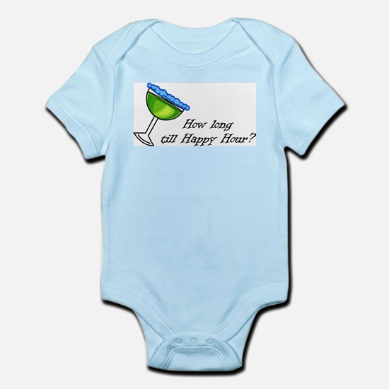How Long Until Happy Hour Infant Bodysuit