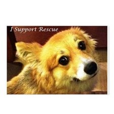 I Support Rescue Postcards (Package of 8)