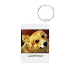 I Support Rescue Keychains