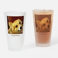 Support Rescue Drinking Glass