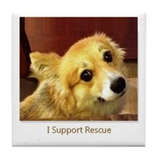 Support Rescue Tile Coaster