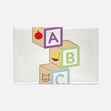 Baby Blocks Rectangle Magnet