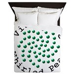 Visualize Whirled Peas 2 Queen Duvet