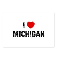I * Michigan Postcards (Package of 8)