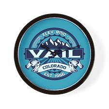 Vail Ice Wall Clock