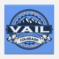 Vail Blue Tile Coaster