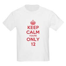 K C Youre Only 12 T-Shirt