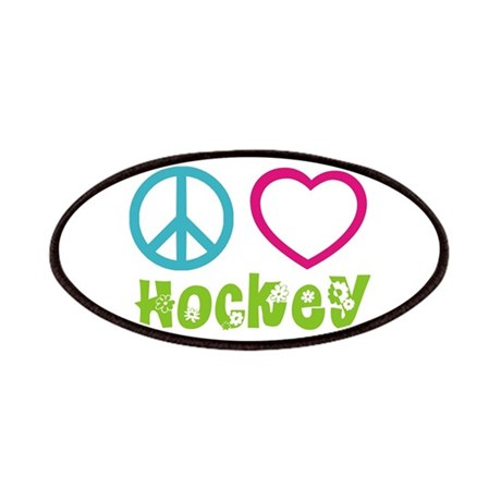 Peace Love Hockey Patches