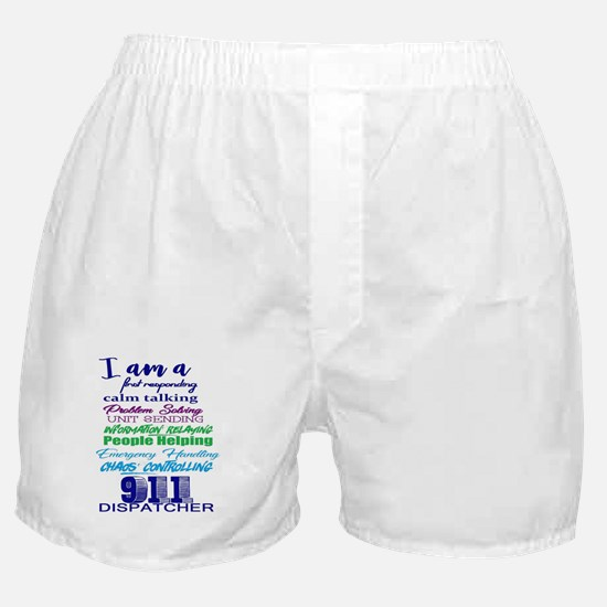 Funny 911 Boxer Shorts
