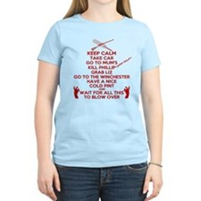 Zombie Keep Calm T-Shirt T-Shirt