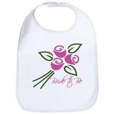 Bride to Be Roses Bib