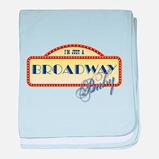 Broadway Baby baby blanket