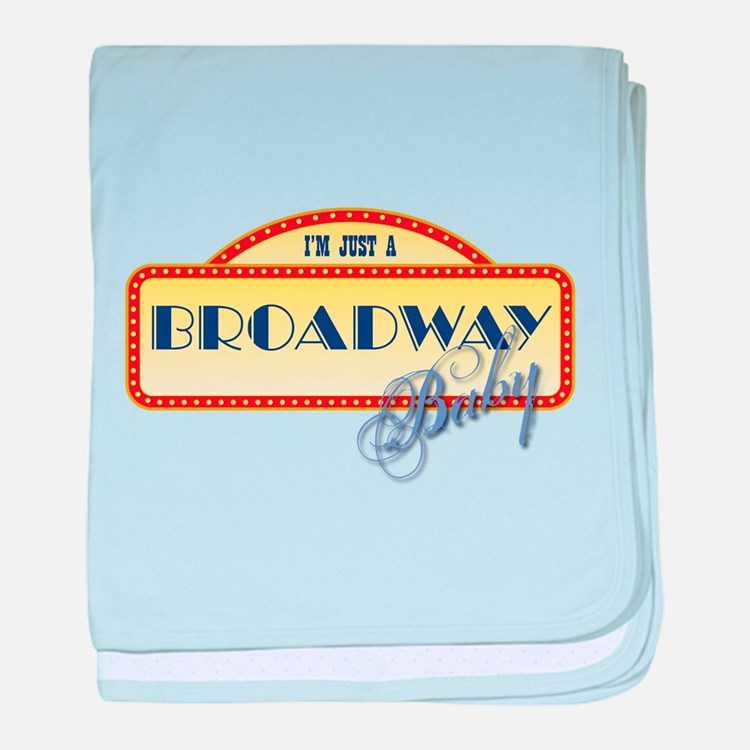 Broadway Baby baby blanket