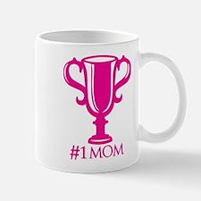 #1Mom Throphy Mug