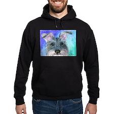 All ears Schnauzer dog Hoodie