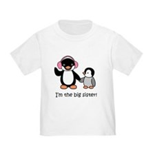 Big Sister - Penguin T-Shirt
