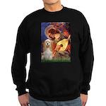 Angel3-Cocker 1 Sweatshirt (dark)