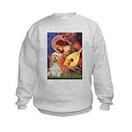 Angel3-Cocker 1 Kids Sweatshirt