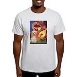 Angel3-Cocker 1 Light T-Shirt