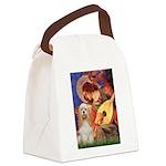 Angel3-Cocker 1 Canvas Lunch Bag