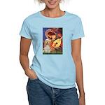 Angel3-Cocker 1 Women's Light T-Shirt