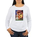 Angel3-Cocker 1 Women's Long Sleeve T-Shirt