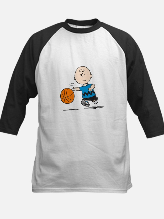 Basketballer Brown Kids Baseball Jersey