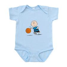 Basketballer Brown Infant Bodysuit