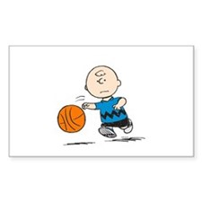 Basketballer Brown Decal