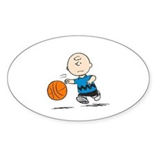 Basketballer Brown Decal