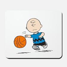 Basketballer Brown Mousepad