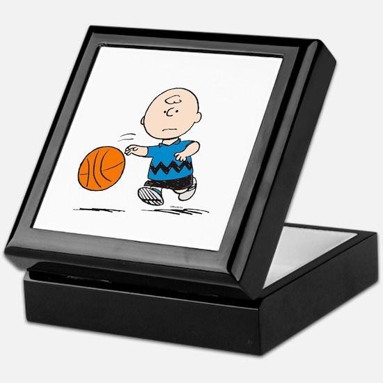Basketballer Brown Keepsake Box