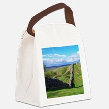 Hadrian's Wall Canvas Lunch Bag