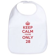 K C Youre Only 28 Bib