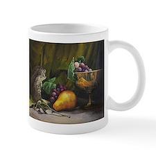Still Life with Pear and Grapes Mug